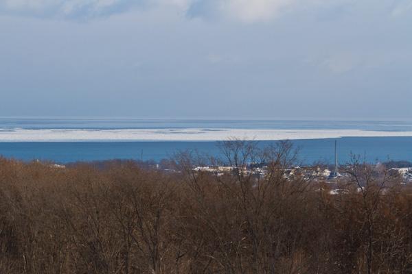流氷接岸間近