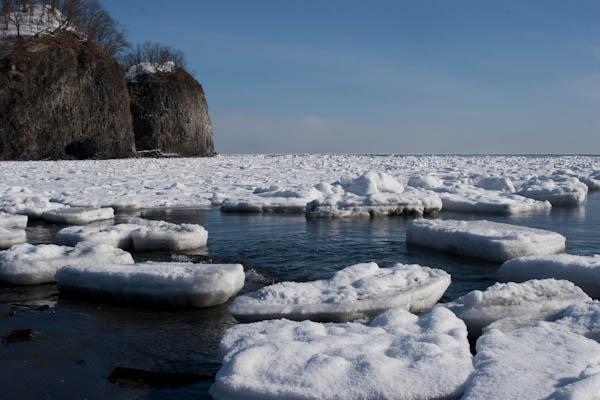 流氷 2007年2月10日撮影