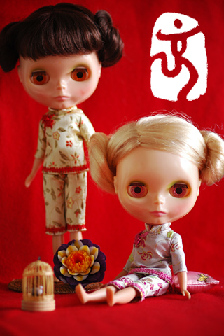 Blythe,china dress,Beijing 2008