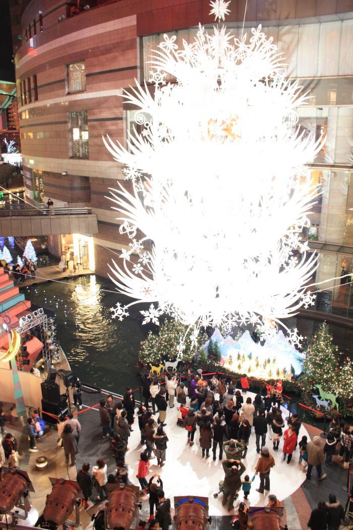 クリスマス - キャナルシティ福岡のイルミネーション