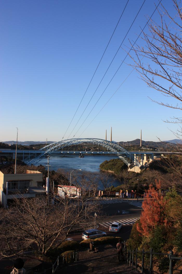新西海橋と針尾無線塔