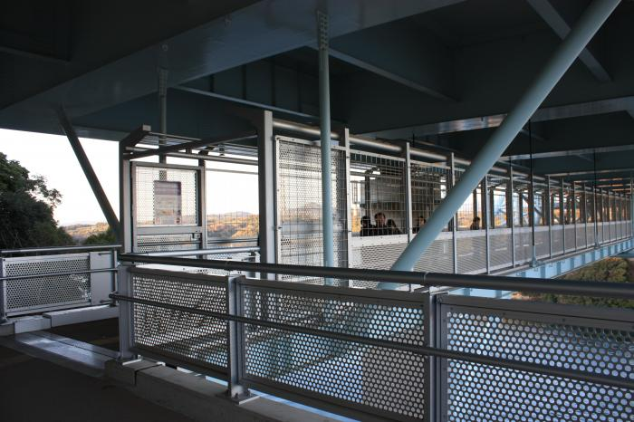 新西海橋の入り口