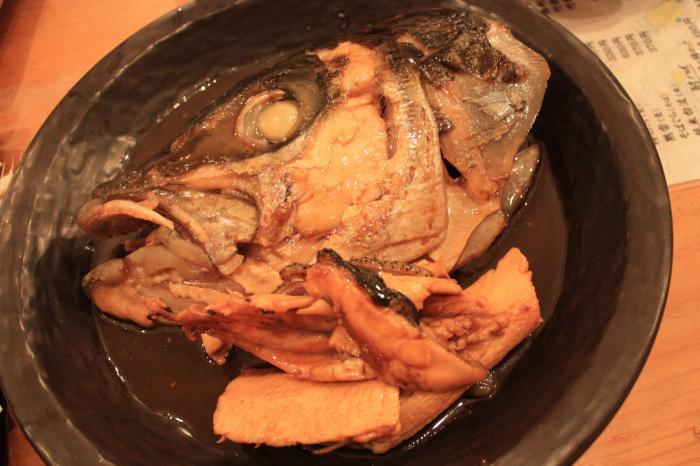 魚の煮付け