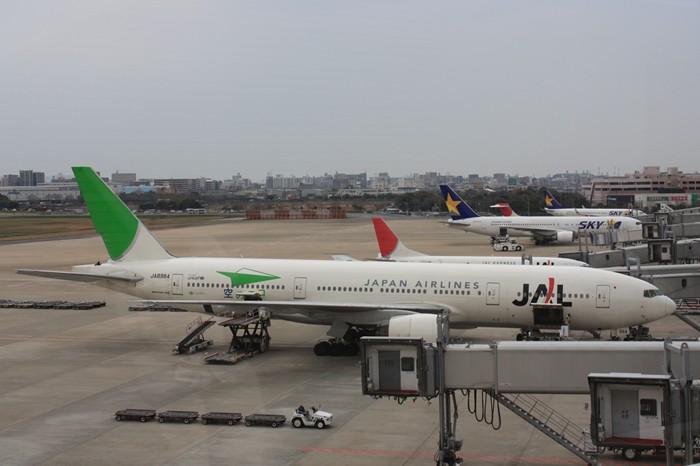 福岡空港展望台からの眺め