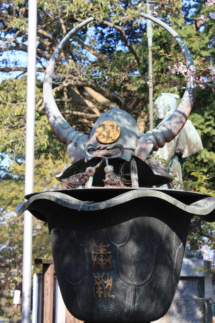 光雲神社にあった兜