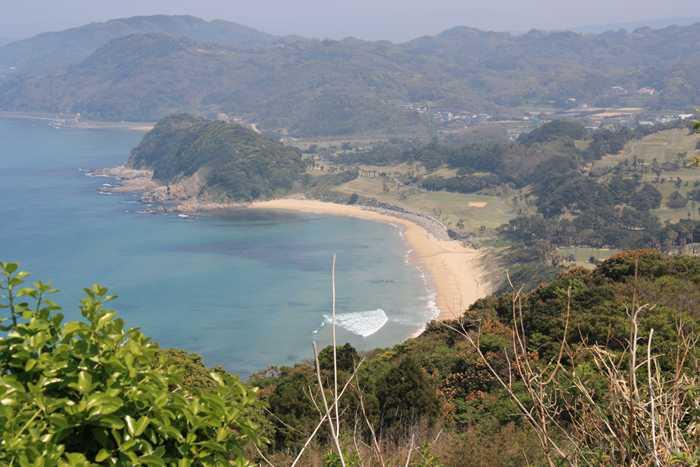 糸島・彦山からみた二見ヶ浦