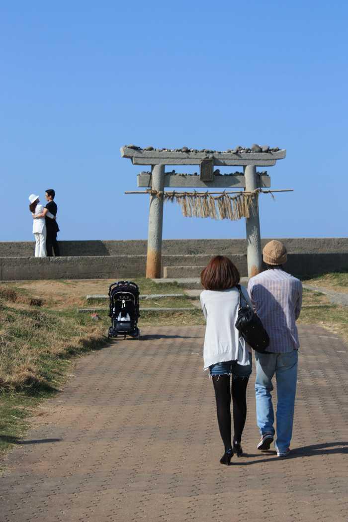 芥屋の大門公園/大祖神社