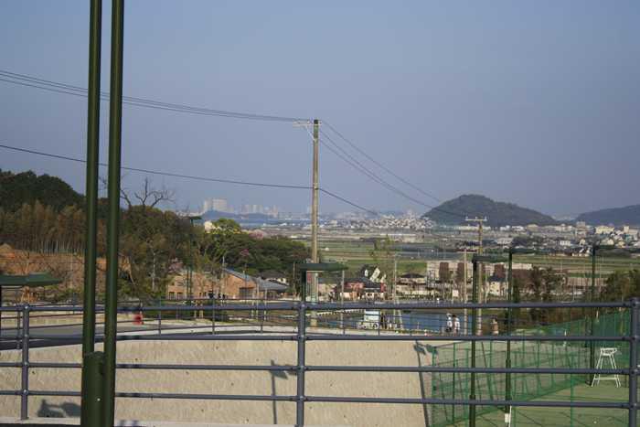 九州大学伊都キャンパスからみた福岡市内