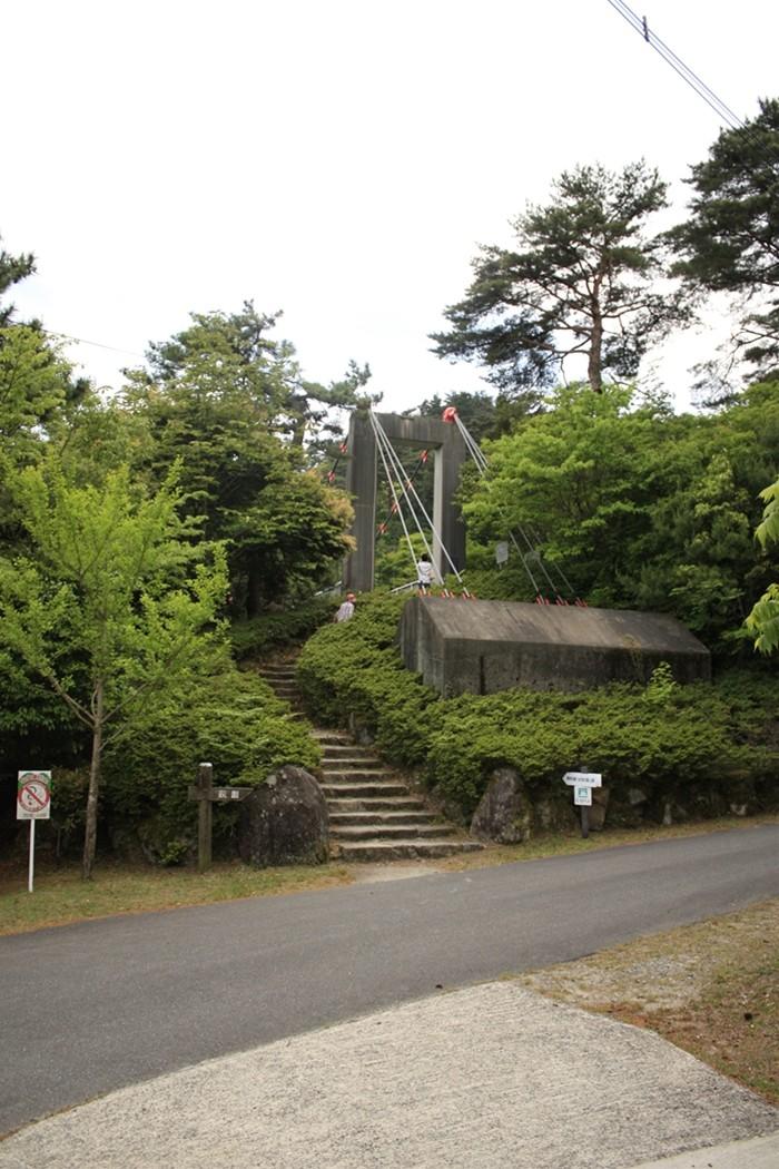油山市民の森のつり橋