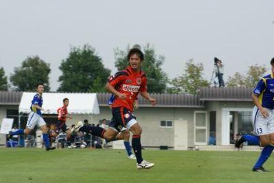 13 Oct 08 - Taishi Tsukamoto actually playing football