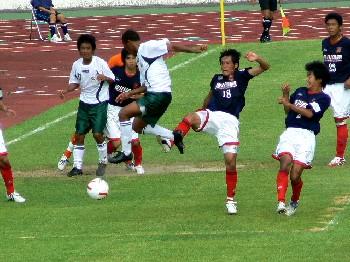 01 Aug 07 - Sagawa Printing scrap it out with FC Gifu