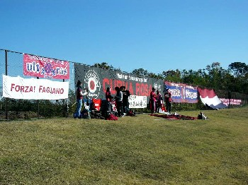 01 Dec 06 - It's those crazy Fagiano Okayama supporters again