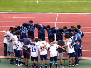 01 Oct 06 - FC Primeiro prepare to get thumped by Sendai Nakata Club