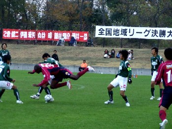 02 Dec 06 - FC Gifu battle their way back into contention against Fagiano Okayama
