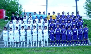 02 Jul 06 - The 2006 Fuji Club 2003 squad, losers against Mizusawa