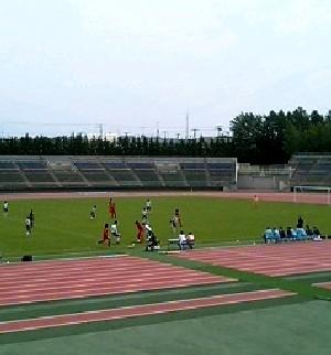 02 Jul 06 - Norbritz Hokkaido in red overcome Thank FC