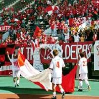 08 Nov 05 - Rosso Kumamoto celebrate their Kyushu League triumph