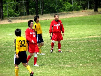 03 Jun 07 - FC Antelope and Teihens wander amiably around