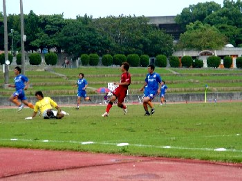 03 Jun 07 - Action from Honda Lock's vital win over V Varen Nagasaki