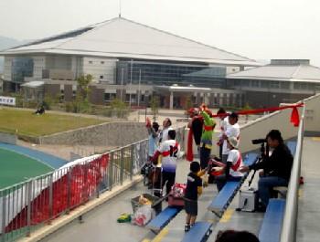 03 May 07 - FC Kariya fans at Mitsubishi Mizushima