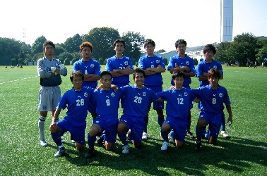 03 Nov 05 - Hanno Bruder, Kanto League new boys and Division 2 champions