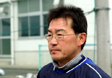 04 Apr 06 - Head coach Toshiki Matsui oversees Ferverosa's demolition of Oigawa Town Hall