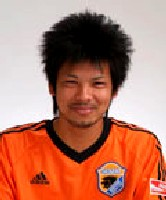 04 Apr 06 - Scorer of Okinawa Kariyushi's fourth goal, defender Kenichi Hori