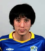 04 Feb 06 - Yokogawa Musashino defender Hiromi Nishiguchi