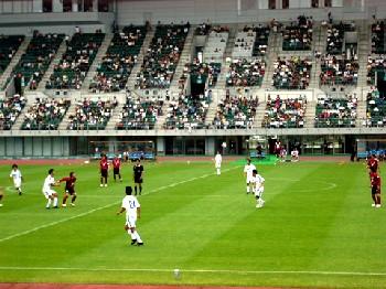 04 Jun 06 - 3061 fans see Fagiano Okayama thrash Hiroshima Fujita SC