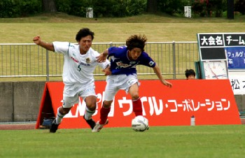 04 Jun 06 - Matsumoto Yamaga in white get the better of Fervorosa
