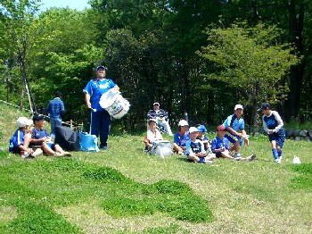 03 May 07 - The massed ranks of Hitachi Tochigi Uva fans