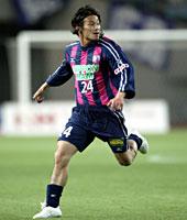 Daisuke Yoneyama in action for Cerezo Osaka
