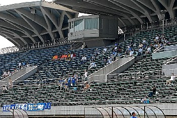 05 Aug 06 - Komazawa Stadium is packed out for Ome against Machida