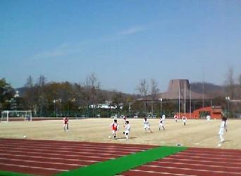 06 Mar 06 - Mizushima in red take on JFL hopefuls SC Tottori