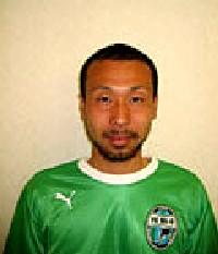 06 May 06 - Naoto Nishimoto, scorer for FC Mi-o Biwako Kusatsu against AS Laranja Kyoto
