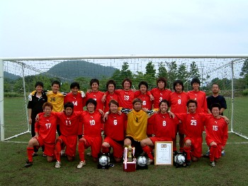 07 Jul 06 - Soma SC celebrate winning the Fukushima prefecture qualifying competition