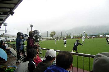 07 May 06 - Shizuoka FC against Gifu in the rain