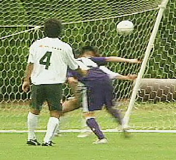 08 Jul 06 - Fujieda City Hall grab an unlikely goal against FC Gifu