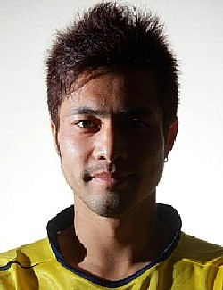 09 Aug 07 - Mean and moody, New Wave striker Daisuke Miyakawa