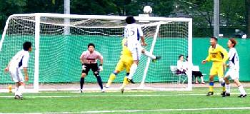 09 Jul 06 - FC Perada Fukushima attack the Furukawa Battery goal