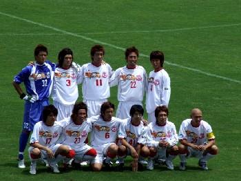 09 Jul 06 - Just before a good 0-0 draw with Honda FC, it's Mitsubishi Mizushima