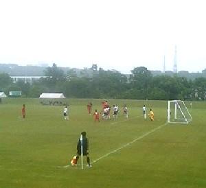 09 Jul 06 - A veeeeeeery far view of Toyota Motors against Thank FC