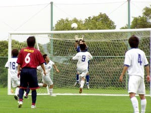 09 Jul 07 - Goalmouth action from Nangoku Kochi's defeat of Ventana AC
