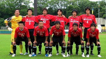 08 Jul 06 - Mitsubishi Kobe prior to their shock home defeat by Kihoku