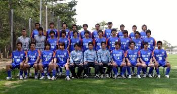 10 Nov 06 - Kyushu League champions V Varen Nagasaki