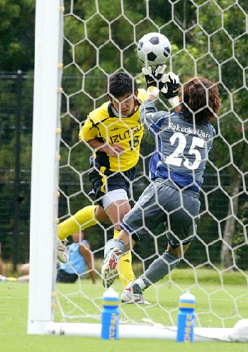 09 Sep 06 - Nanakuma Tombies concede against New Wave Kitakyushu