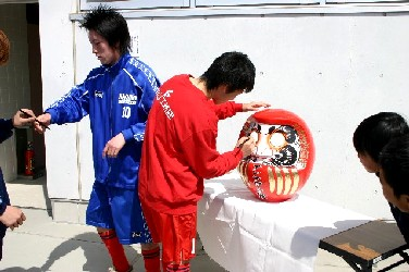 10 Apr 06 - Pre-season signing chores for the stars of FC Antelope