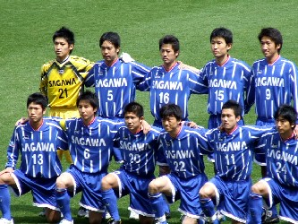 10 Apr 06 - Sagawa Kyubin Osaka before their clash with Arte Takasaki