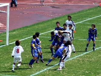 10 Apr 06 - Yokogawa Musashino defend against Rosso Kumamoto
