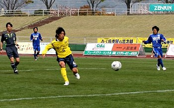 10 Apr 07 - Jun Mizukishi scores for New Wave against Osumi NIFS
